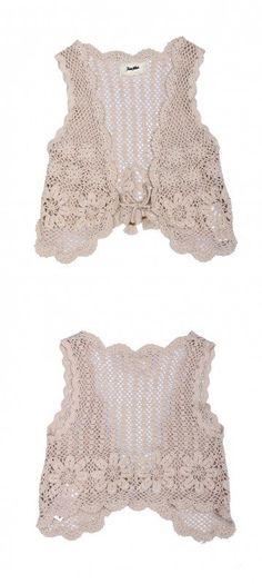 Inspirações de Croche com Any Lucy: Colete                                                                                                                                                                                 Mais