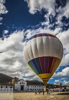 Colombian Coffee, Hot Air Balloon, Best Coffee, South America, Balloons, World, Summer, Image, Villa De Leyva
