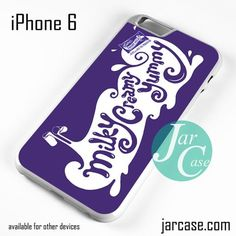 Cadbury Dairy Milky Creamy Yummy Phone case for iPhone 6 and other iPhone devices