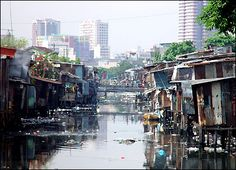 Pinner Says: I took pics of the slums of Manila, Philippines, so that I would never forget. what abject poverty looks like, what government neglect looks like, what income inequity between rich and poor looks like. Or how deeply grateful we should feel. Davao, Cebu, Iloilo, Makati, People Around The World, Around The Worlds, Subic Bay, Urban Ideas, Water Pollution