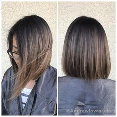 Beige Babylights and balayage. Cut and color by Beige Babylights and balayage. Haircuts For Medium Length Hair, Medium Hair Cuts, Short Hair Cuts, Medium Hair Styles, Short Hair Styles, Short Straight Haircut, Haircuts Straight Hair, Blonde Haircuts, Straight Bob