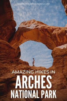 Discover how Arches National Park can be easily catered to any visitor's experience.In this post, Berty and I are sharing how you can soak in all the magic of the park in just 24 hours - and feel like you've seen it all! Capitol Reef National Park, Zion National Park, Canada Travel, Travel Usa, Reserva Natural, Destinations, Road Trip Usa, Adventure Travel, Places To See