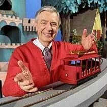 Mr.rogers!! He was my favorite! Made me feel like there was really peaceful & nice people in the world!