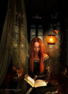 The Old Story by Le-Regard-des-Elfes