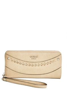 Solene Zip-Around   shop.GUESS.com Cute Wallets, Sexy Dresses, Clutch Bag, Purses And Bags, Handbags, Zip, My Style, Women, Fashion