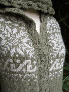 buttonband by sundayknits, via Flickr