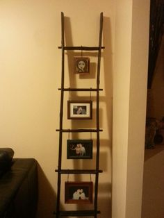Marvelous Decorative Ladder Picture Idea