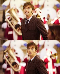 The 10th Doctor.How cuteee!