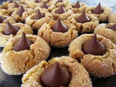 Easy Peanut Butter Cookie Recipe – Hershey Kiss Peanut Butter Blossoms – Hershey Kisses Peanut Butter Blossoms | Cook Eat Delicious!
