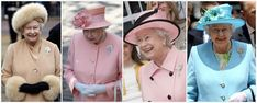 The Queen in the Queen Mother's Shell Brooch, made in 1919, acquired in 1944, of diamonds and a single pearl.