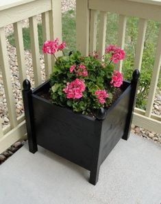 Square Planters | Do It Yourself Home Projects from Ana White