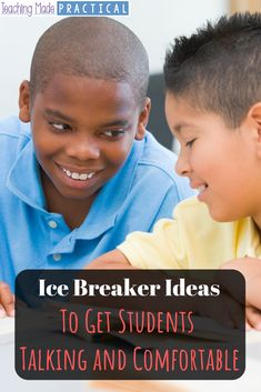 Back to school Ice Breakers that build trust between students, create a positive classroom environment, and get students talking! 5th Grade Teachers, Elementary Teacher, Upper Elementary, Teaching Special Education, Student Learning, Fifth Grade, Third Grade, Class Meetings, 4th Grade Reading