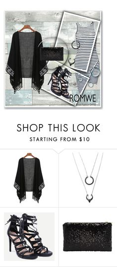"""""""Romwe 2/IV"""" by amina-haskic ❤ liked on Polyvore featuring Wall Pops!"""