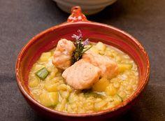 Denny Chef Blog: Minestra di orzo, zucchine e salmone