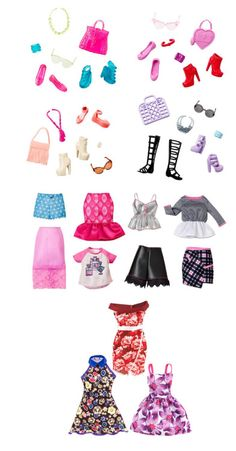 New Single Fashion and Accessoires Packs for Barbie. Here I have found the images: http://www.barbie.com/nl-nl