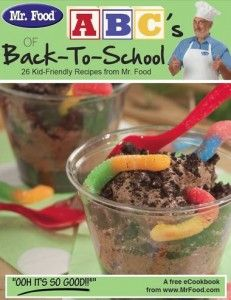 These FREE recipes aren't just for school time...  They're PDF and can be opened in iBooks and other apps!