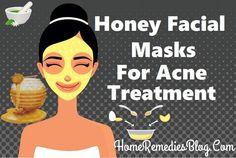 Honey Facial Mask For Acne home Treatment