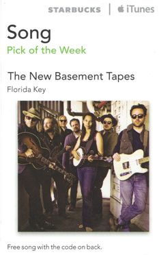 The New Basement Tapes-Florida Key Code Expiration Date February 3, 2015