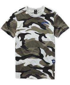 19cf5d7721 G-Star Raw Men's Camo T-Shirt & Reviews - T-Shirts - Men - Macy's
