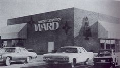 Montgomery Ward at Springfield Mall (the mall opened in Springfield Virginia, My Back Pages, High School Years, Falls Church, Montgomery Ward, Northern Virginia, Back In The Day, Alexandria, Washington Dc