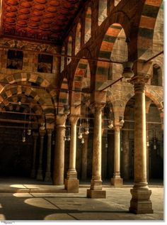 Sultan Hassan mosque - old Cairo - Egypt