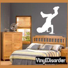 Break Dancing Vinyl Wall Decal or Car Sticker  - breakdancingal002ET by VinylDisorder on Etsy https://www.etsy.com/listing/201492109/break-dancing-vinyl-wall-decal-or-car