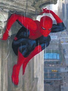 Mythos: Spider-Man - Interior art - Paolo Rivera