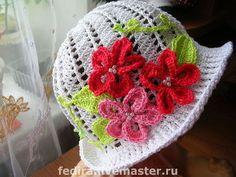 Одежда для девочек, ручной работы. Ярмарка Мастеров - ручная работа Летняя шапочка. Handmade.