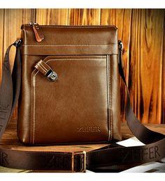 Sản phẩm có bán tại Muachung365.net Là túi đeo chéo Zefer với da phối, thiết kế trẻ trung, năng động, dễ phối đồ, có 2 màu: đen và nâu. Có khóa kéo và dây đeo chéo, đeo tay, đựng máy tính bảng, ipad. _ Kích thước tham khảo: 27 x 23 x 6,5cm. Leather Portfolio, Briefcase For Men, Messenger Bag Men, Satchel, Backpacks, Ipad, Stuff To Buy, Briefcases, Wallets