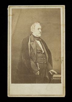 Valentine Mott 1785 1865 Blake Gifford Carte De Visite