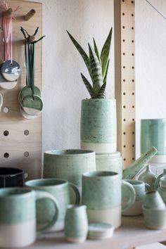 Ceramics by FICH ceramics Photo by Kasia Fiszer #pottery #ceramics #styling
