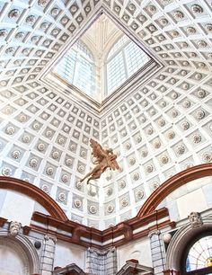 Art or architecture? You be the judge of this incredible coffered vault at the 16th-century Palazzo Grimani.  | Architectural Digest, July 2015