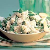 Risotto met groene groenten - Allerhande