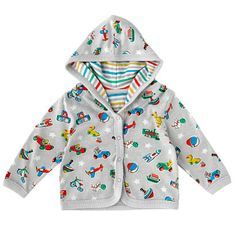 Vintage Toys Baby Boys Hooded Jacket