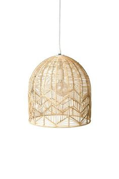 LACE RATTAN LIGHT - NATURAL