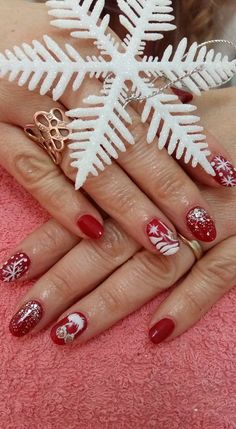 VslNails: christmas season! Seasons, Nails, Bracelets, Christmas, Jewelry, Finger Nails, Xmas, Jewlery, Ongles
