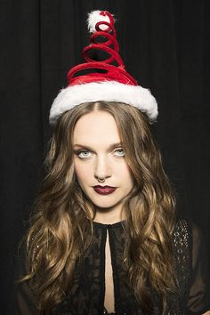 Tove Lo | These Celebrities Got Festive As Fuck When They Stopped By Our Jingle Ball Photo Booth