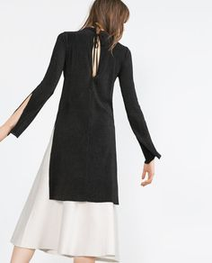 Image 5 of ASYMMETRIC TUNIC from Zara