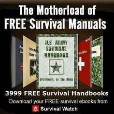 Free Survival EBooks.Great to have some on your phone. #SurvivalPreppingThingsTo