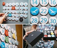 Dorogaya Magnetic Calendar designed by Serhiy Chebotaryov
