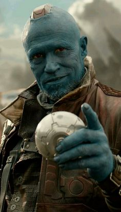 """Yondu played by Michael Rooker. Introduced in the 2014 film """"Guardians of the Ga… - Marvel Fan Arts and Memes Marvel Fan Art, Disney Marvel, Marvel Dc Comics, Marvel Heroes, Marvel Avengers, Michael Rooker, Marvel Characters, Marvel Movies, Marvel Universe"""