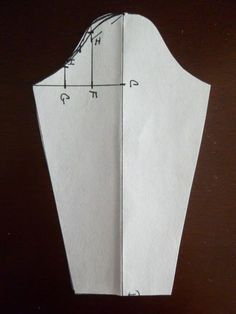 How to draft a sleeve based on your armhole measurement