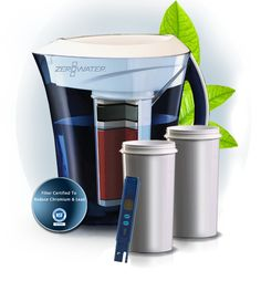 ZeroWater five stage water filter