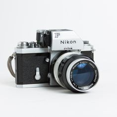Nikon's first SLR camera and still a thing of beauty. This Nikon F 35mm Film Camera came with the Photomic FTN Finder and a nice, sharp Nikkor-Q 135mm f/3.5 Lens