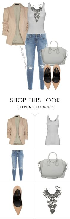 """""""Untitled #3251"""" by stylebydnicole ❤ liked on Polyvore featuring мода, Theory, iHeart, Frame Denim, Givenchy, Yves Saint Laurent и DYLANLEX"""