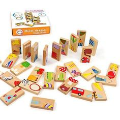 Cheap gift condom, Buy Quality toy pavers directly from China gift paper Suppliers: Unisex Baby Kid 28 PCS Animal Domino Blocks Toy Safe Wood Domino Educational Toys Gift for Kid Above 3 Years Old FCI# Wooden Blocks Toys, Wooden Puzzles, Wooden Toys, Cute Birthday Gift, Birthday Gifts For Kids, Puzzles For Kids, Games For Kids, Pet Toys, Kids Toys