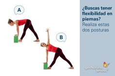 Es usual no estar consciente de la importancia de estirar la parte de atrás de las piernas.  Mantener esta parte del cuerpo flexible ayuda a que nuestra espalda se mantenga sana, es decir, que podamos tenerla siempre recta y alineada.  Sigue estas dos posturas que te ayudarán a trabajar esa zona que puede ser difícil de estirar, ¡ayuda de esta forma a tu columna vertebral!  Recuerda mantener tu espalda recta en cada uno de los ejercicios.