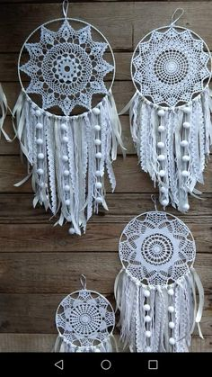 Super Crochet Doilies Crafts Dream Catchers Ideas Super Crochet Doilies Crafts Dream Catchers Ideas Knitting For BeginnersKnitting FashionCrochet PatronesCrochet Amigurumi Doily Dream Catchers, Dream Catcher Craft, Dream Catcher Boho, Dream Catcher White, Motif Mandala Crochet, Crochet Doilies, Crochet Patterns, Dream Catcher Crochet Pattern, Crochet Lace