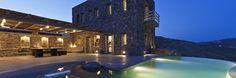 Find Mykonos luxury villas and rent direct from luxury villa owners or exclusive Mykonos villa rental agencies. Browse our collection of luxury Mykonos villas Holiday Destinations, Vacation Destinations, Mykonos Villas, Luxury Villa Rentals, Beautiful Villas, Vacation Villas, Outdoor Pool, Hotels And Resorts, Facade