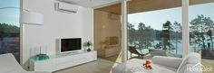 PlusHuvilat Outdoor Structures, Architecture, Room, Interiors, Furniture, Home Decor, Log Homes, Living Room, Arquitetura